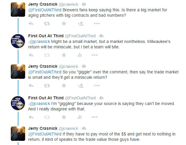 My Twitter exchange with ESPN's Jerry Crasnick | The First